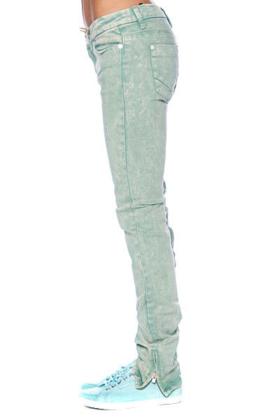 Джинсы женские Insight Skinny Stretch Ankle Biter Emerald Wash Proskater.ru 1619.000