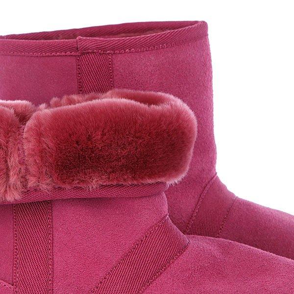 фото Женские угги Roxy Low Tess Beaujolais, розовые