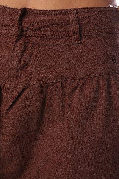 Юбка женская Ezekiel Colombia Skirt Brown Proskater.ru 1246.000