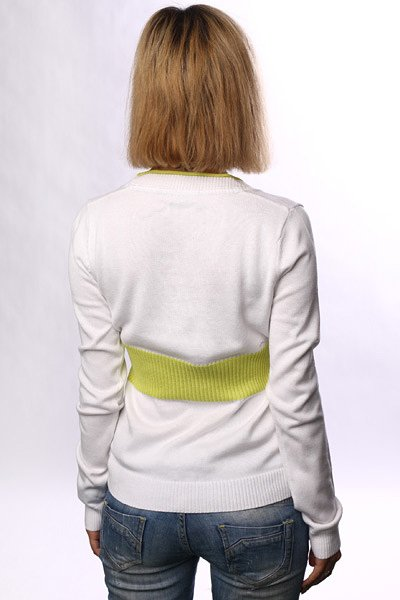 Джемпер женский Zoo York Arrow Sweater White Proskater.ru 2779.000