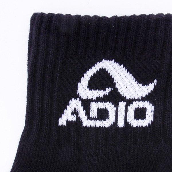 Носки средние Adio Ankle (3 Pack) Black