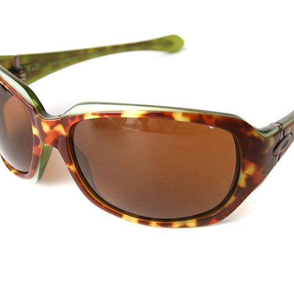 Очки женские Oakley Script Green Tortoise/Dark Bronze Proskater.ru 3669.000