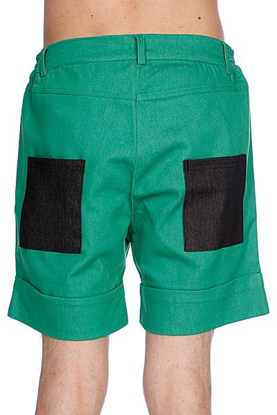 Шорты Bat Norton Unisex Basic Shorts Green Proskater.ru 2100.000