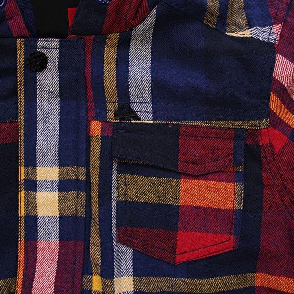 Куртка детская Quiksilver Mataruna Check Youth Nautica Proskater.ru 2189.000