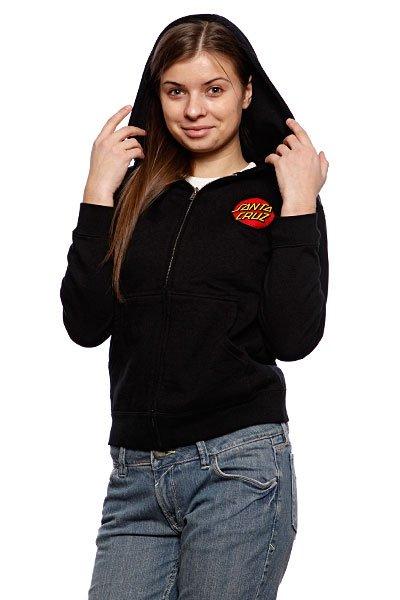 Толстовка женская Santa Cruz Classic Dot Black Proskater.ru 2520.000