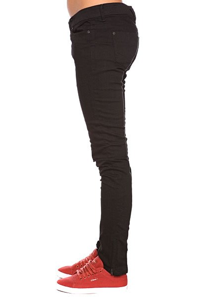 Джинсы женские Insight Skinny Stretch Ankle Biter Black Proskater.ru 2159.000