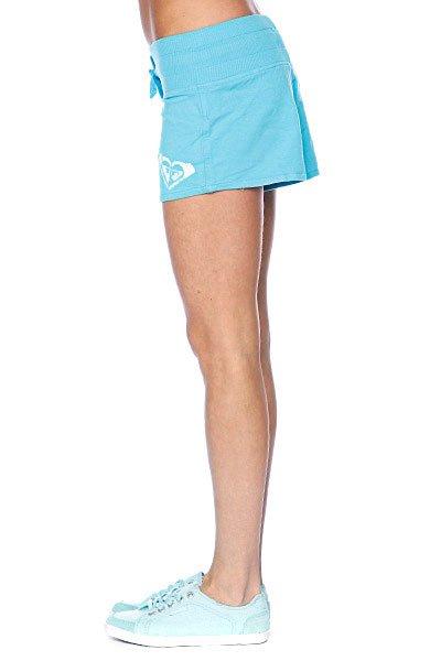 Шорты классические женские Roxy Beach Brights Short Neon Blue Proskater.ru 1040.000