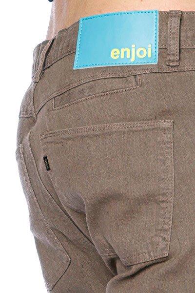 Джинсы мужские классические Enjoi Manorexic Jean 3 Clay Proskater.ru 4040.000