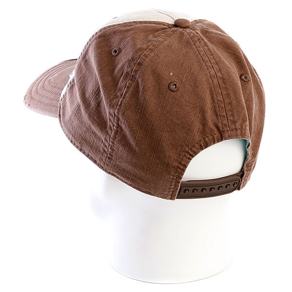 фото Бейсболка женская Vans Plaid Hat Chocolate - картинка [3]
