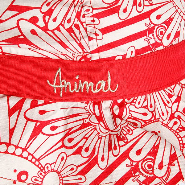 фото Шляпа женская Animal Angie Red/White - картинка [2]