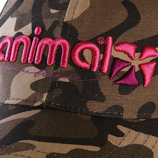 фото Бейсболка женская Animal Abira Camo - картинка [2]