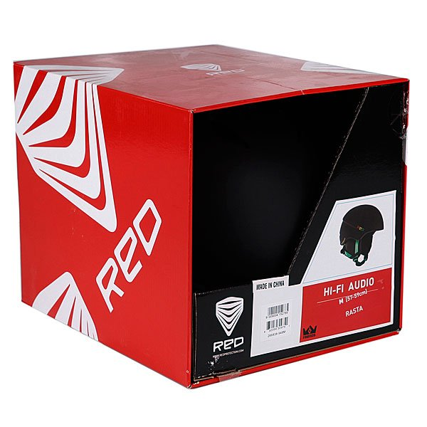 Шлем Red Hi-Fi Audio Frends/Rasta Proskater.ru 5799.000