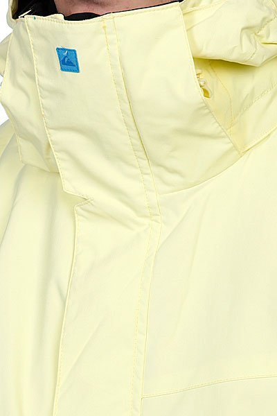 Куртка Quiksilver Next Mission Plain Ins Jkt Light Yellow Proskater.ru 5170.000