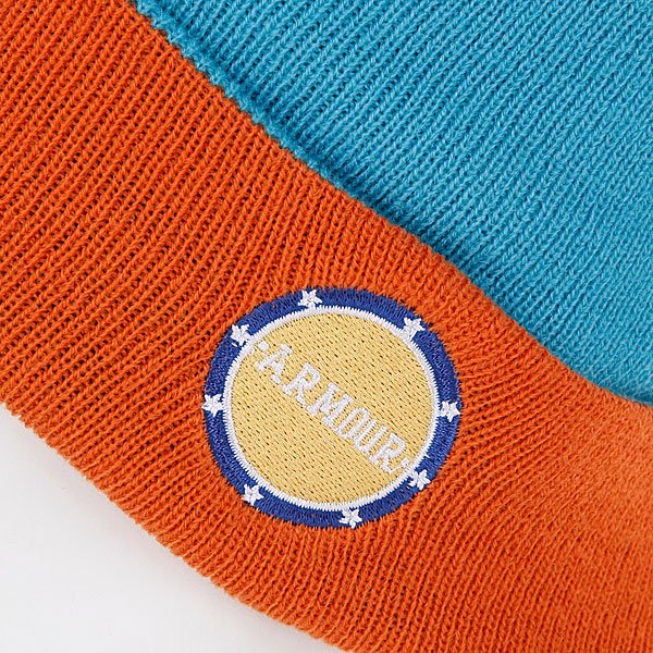 фото Шапка мужская Armour Park Beanie Blue/Orange - картинка [2]