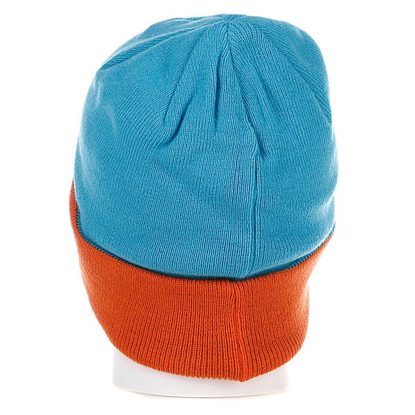 фото Шапка мужская Armour Park Beanie Blue/Orange - картинка [3]