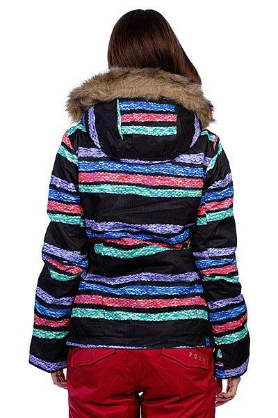 Куртка женская Roxy Jet Ski Jk Multi Stripe Jacquard Proskater.ru 6290.000