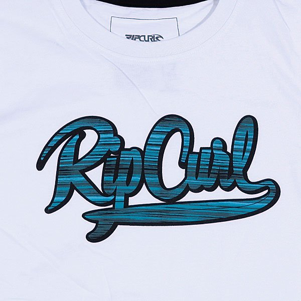 Футболка детская Rip Curl Rush Ss Tee Optical White Proskater.ru 869.000