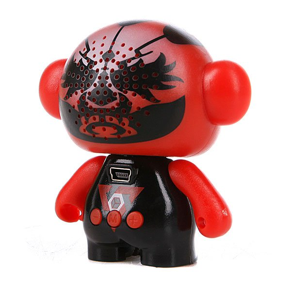 Колонка портативная Music Monsters SD Card Player Speaker Red Mask Proskater.ru 1500.000