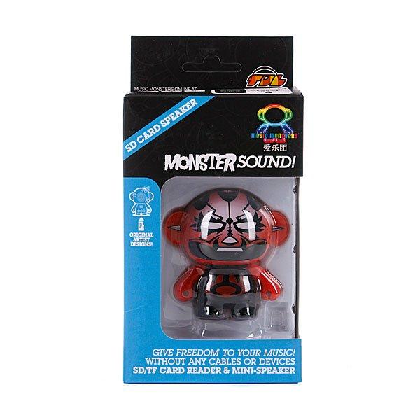 Колонка портативная Music Monsters SD Card Player Speaker Red Mask Proskater.ru 1500.000