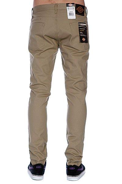 Штаны Dickies Slim Skinny Pant British Tan Proskater.ru 3150.000