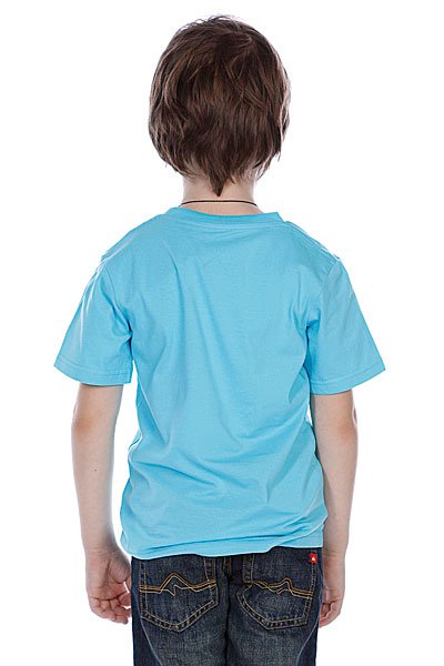 Футболка детская Quiksilver Basic Tee Boy Bubble Blue Proskater.ru 780.000