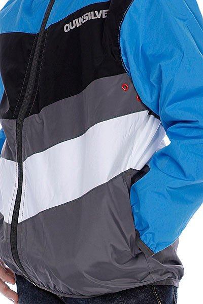 Куртка детская Quiksilver Outlander Boy Blue Stripe Proskater.ru 1609.000