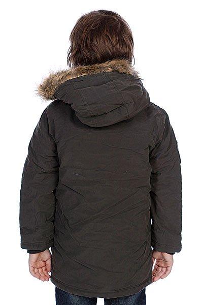 Куртка детская Quiksilver Eskimow Boy Anthracite Proskater.ru 2619.000