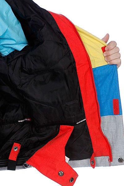 Куртка детская Quiksilver Dwell Kids Jkt Tomato Proskater.ru 5180.000