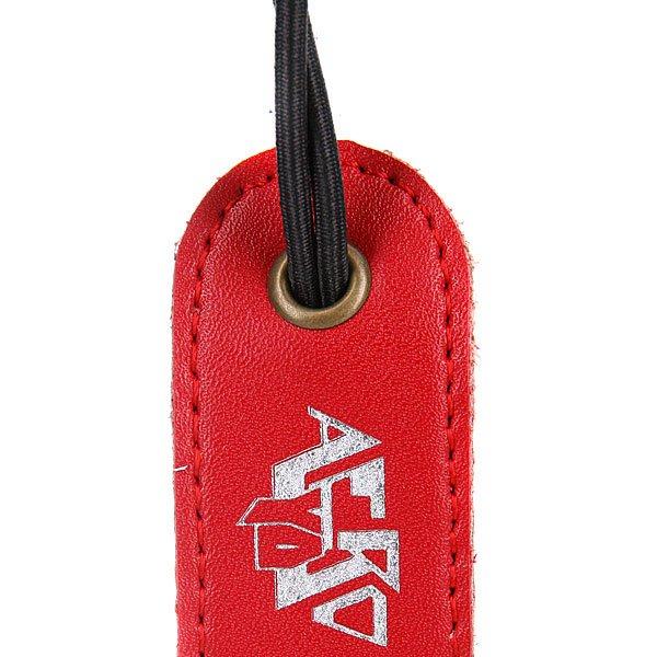 Держатель для йо-йо Aero-Yo Leather Red Silver Proskater.ru 200.000
