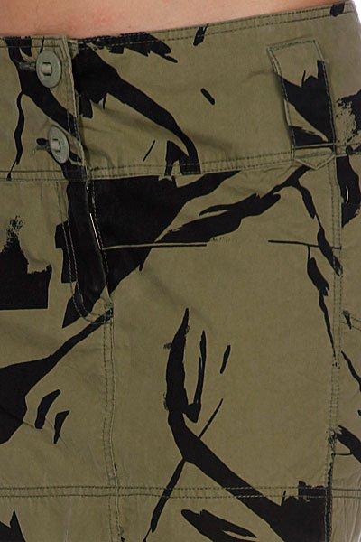 Юбка женская Addict Women Skirt Surpl. Mini She Military Olive Proskater.ru 1860.000