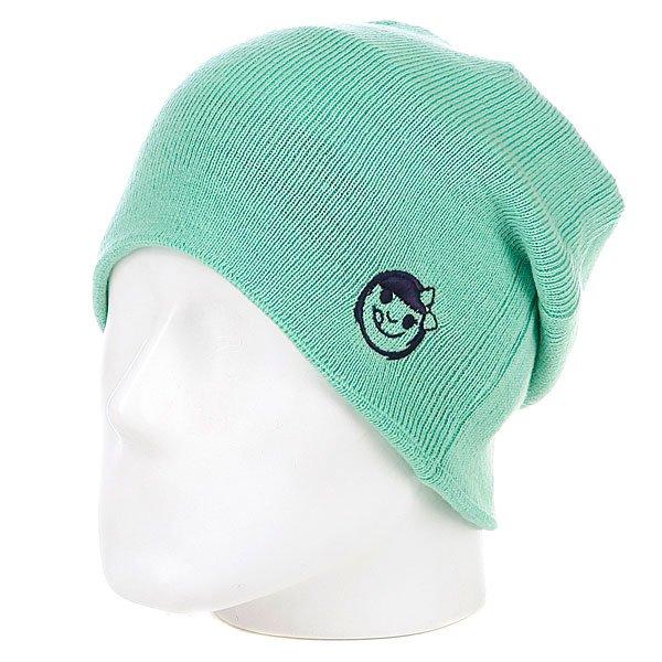 фото Шапка-носок женская Neff Wmn Reversibella Green/Blue - картинка [4]