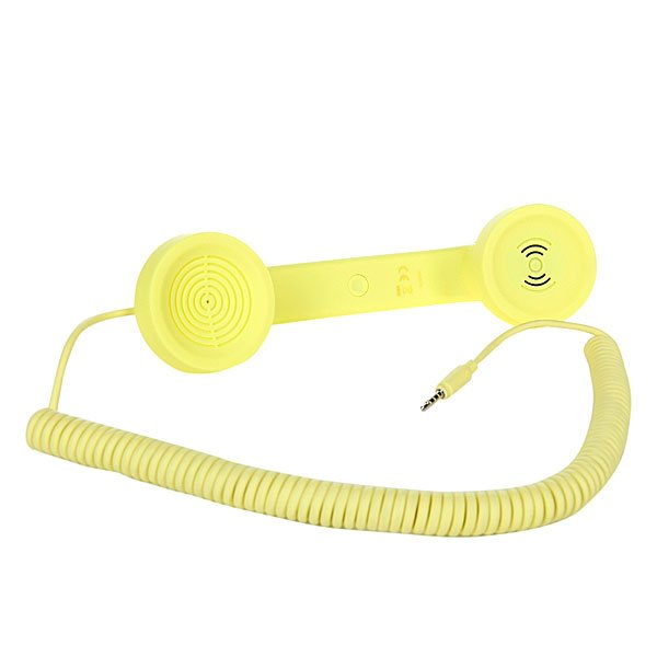 Гарнитура для iPhone Native Union Pop Phone Neon Yellow St Proskater.ru 1129.000