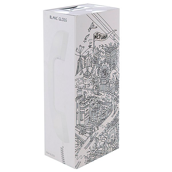 Гарнитура для iPhone Native Union Pop Phone Blanc Gloss Proskater.ru 1129.000