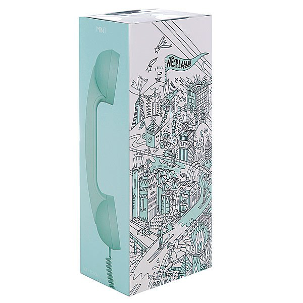 Гарнитура для iPhone Native Union Pop Phone Mint St Proskater.ru 1129.000