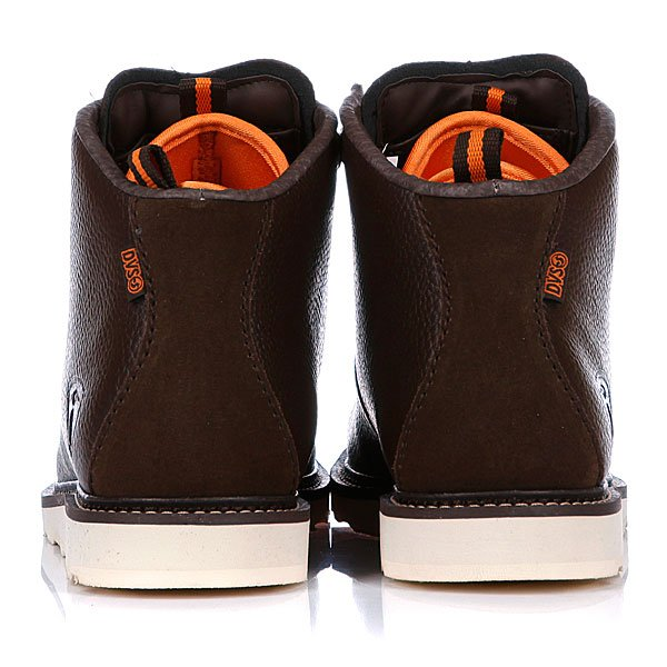 Ботинки зимние DVS Yodeler Brown Leather Proskater.ru 5700.000