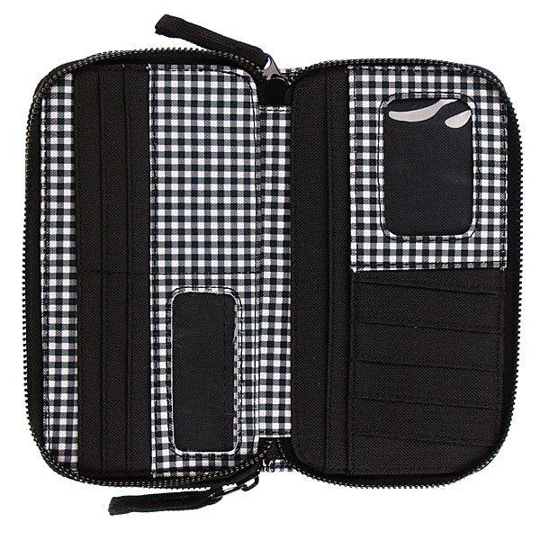 Кошелек женский Rip Curl Gingham Wallet Solid Black Proskater.ru 959.000