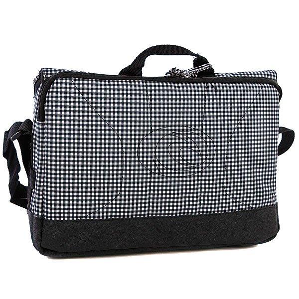 Сумка женская Rip Curl Gingham Computer Bag Solid Black Proskater.ru 1639.000