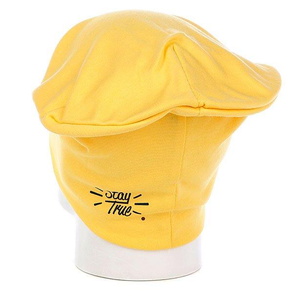 фото Шапка-носок True Spin Jersey Beanie Yellow - картинка [3]