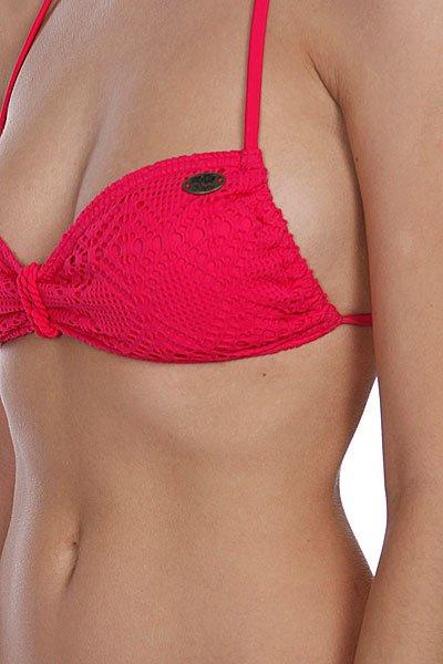Купальник женский Roxy Crochet Scooter Pt Bright Pink Proskater.ru 2980.000