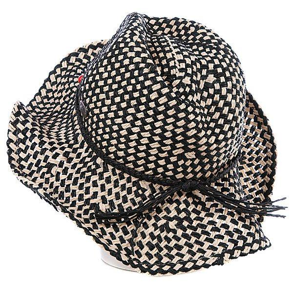 фото Шляпа женская Roxy Seaside Hat True Black - картинка [3]