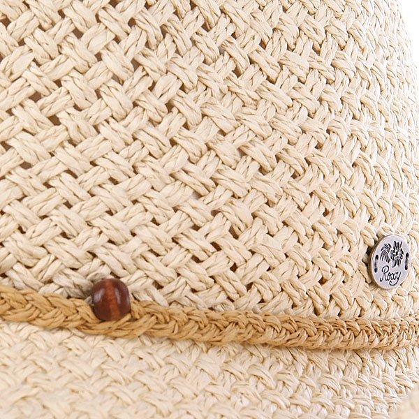 фото Шляпа женская Roxy Seaside Hat Natural - картинка [2]