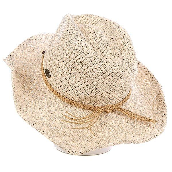 фото Шляпа женская Roxy Seaside Hat Natural - картинка [3]