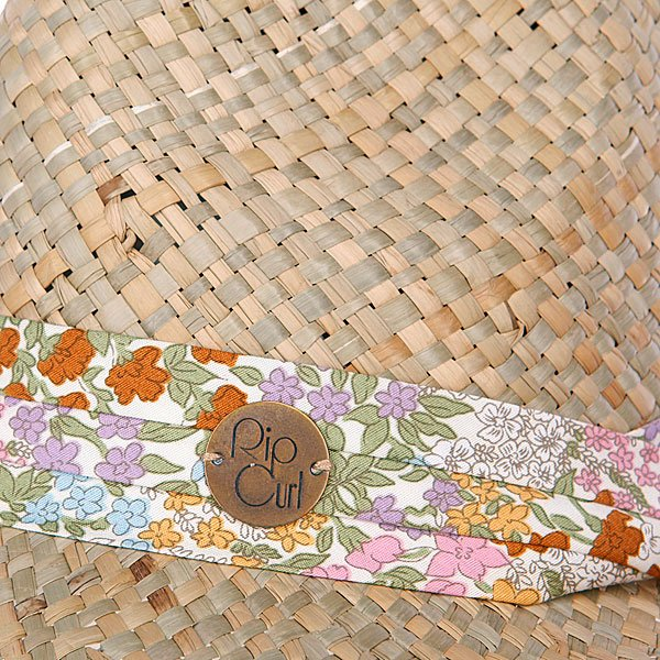 фото Шляпа женская Rip Curl Autumn Straw Fedora Natural - картинка [2]
