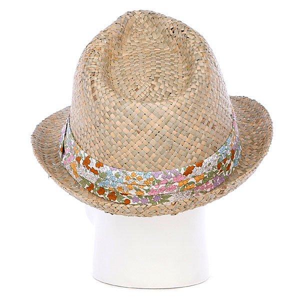 фото Шляпа женская Rip Curl Autumn Straw Fedora Natural - картинка [3]
