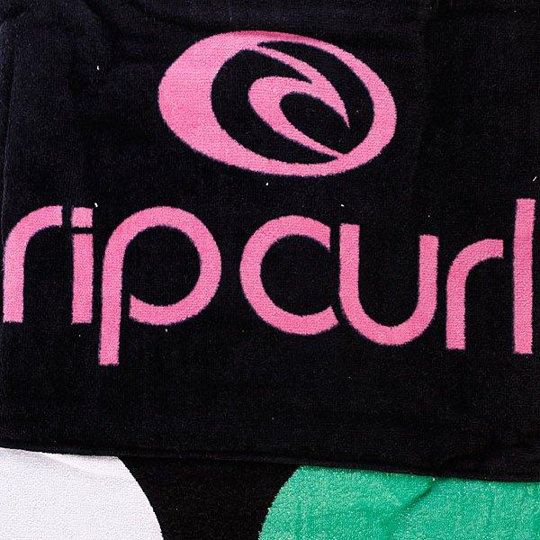 Полотенце женское Rip Curl Hilo Dots Beach Towel Solid Black Proskater.ru 1629.000