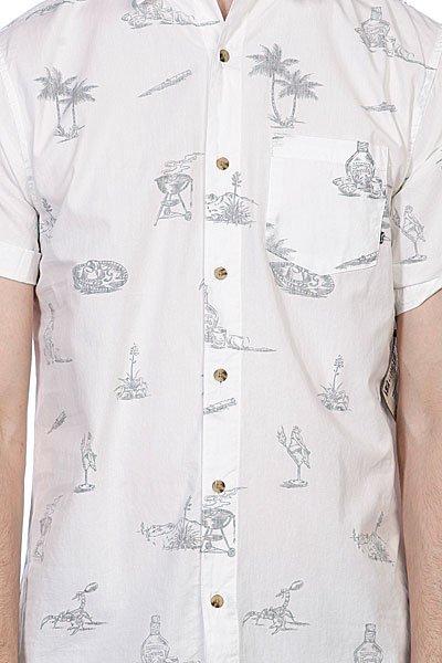 Рубашка Globe Cabana Shirt Dirty White Proskater.ru 2049.000