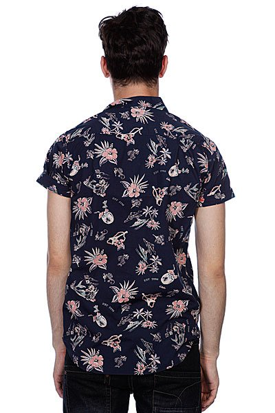 Рубашка Globe Pina Colada Shirt Midnight Proskater.ru 2049.000