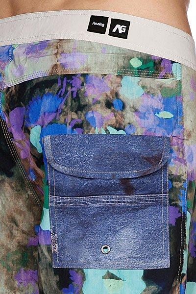 Пляжные мужские шорты Analog Flores Brdshort Blue Proskater.ru 2969.000