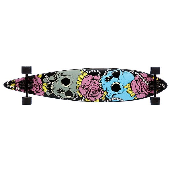 Лонгборд в сборе Eastcoast Skull And Roses 46 in 9.75(24.8 см) Proskater.ru 7070.000