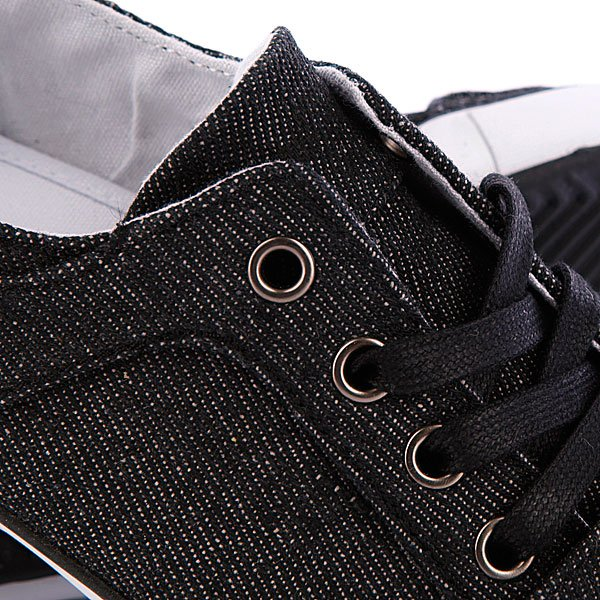 Кеды кроссовки женские Creative Recreation WCesario Lo Xvi Black Denim Proskater.ru 2599.000